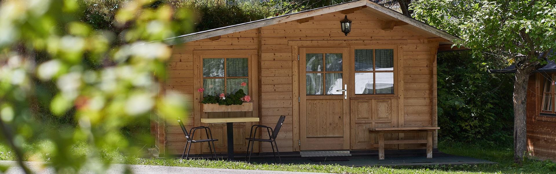 Hütten Ötztal Camping